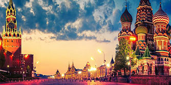 در مسکو راهنمای خودت باش