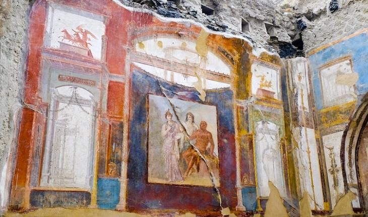 هرکولانیوم، شهر خواهری پمپی که قبل از فوران آتش فشان زنده بود!