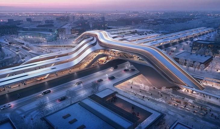 این شاهکار معماری قرار است سفر را برای مسافران دلنشین تر کند!
