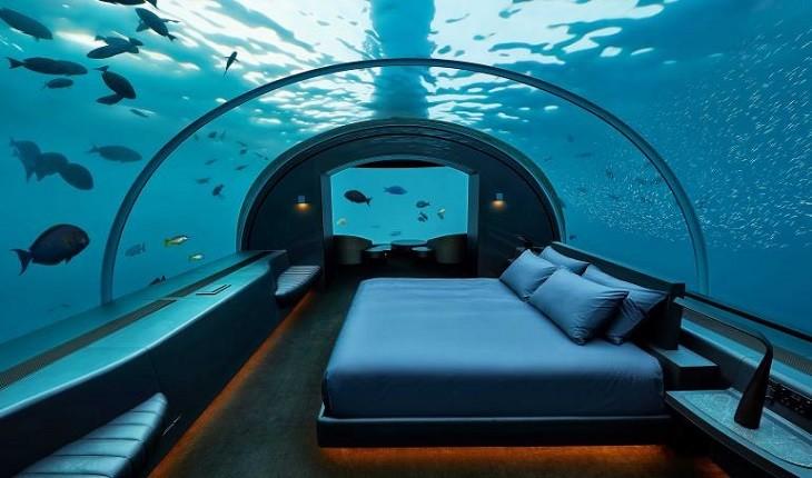 موراکا؛ تجربه اقامتی عجیب در زیر آب را برایتان رقم خواهد زد!