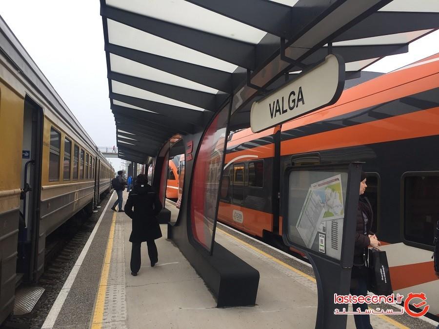 تالین در حال تبدیلشدن به ایستگاه قطار