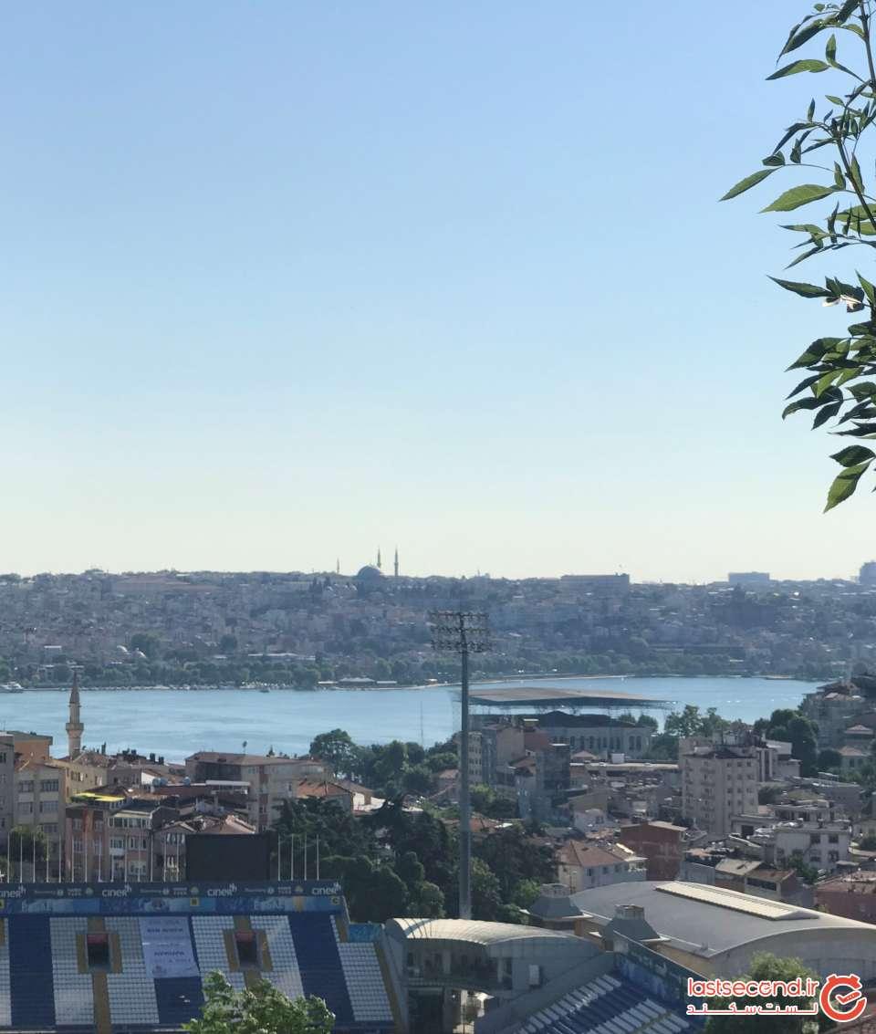سفر یا پیاده روی در شهر استانبول