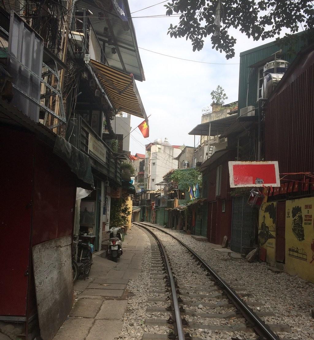 خیابان قطاری هانوی