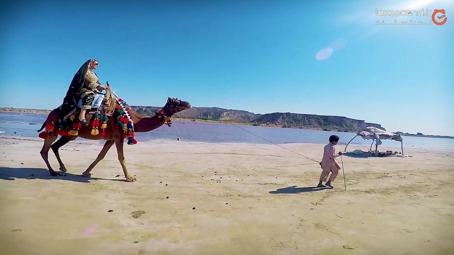 تالاب صورتی لیپار و بندر پُزم، دو جاذبه معروف و پرطرفدار سیستان و بلوچستان