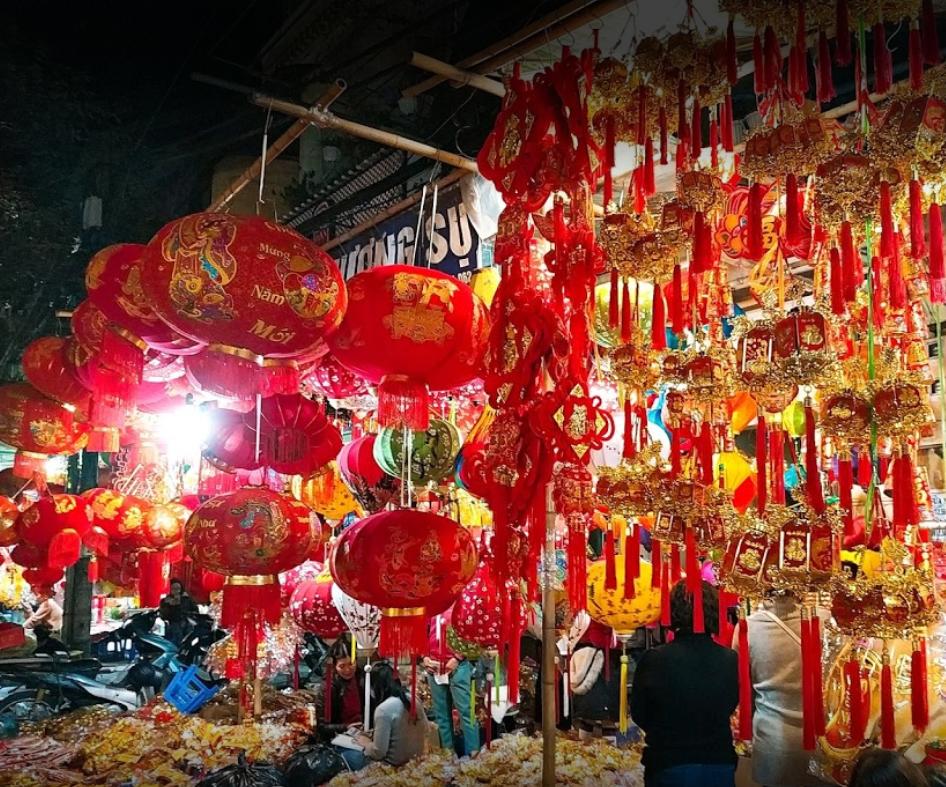بازار شبانه هانوی