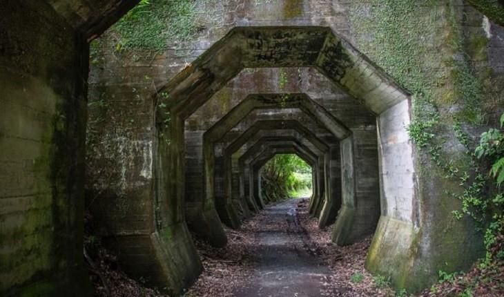 تونلی هشت ضلعی در ژاپن که بسیار مرموز و ترسناک است!