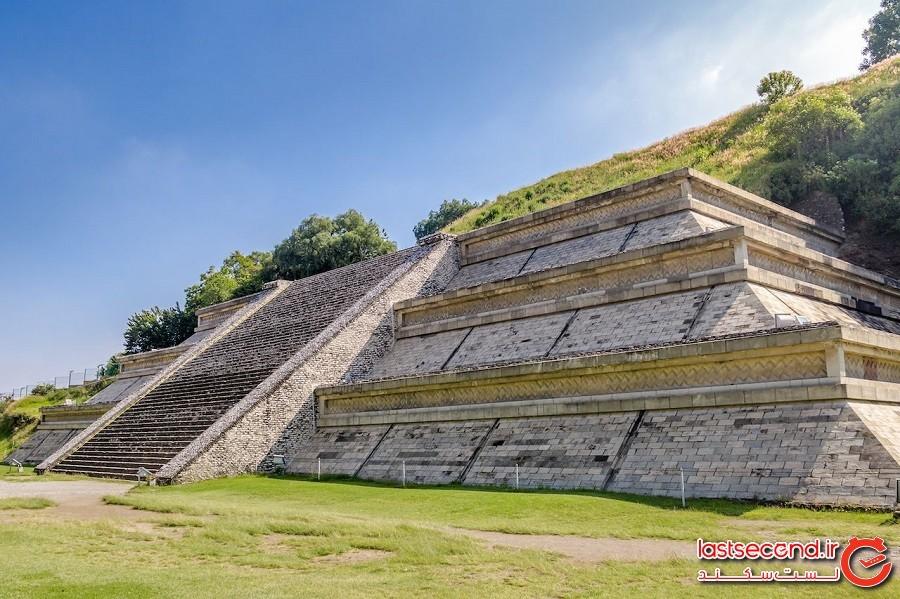 بزرگترین هرم در مصر نیست، بلکه در مکزیک است
