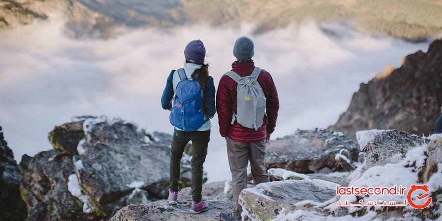 برای کوهنوردی راحت و ایمن در هوای سرد چه نکاتی را باید رعایت کنیم؟