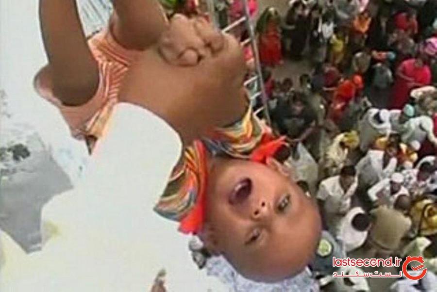 پرتاب بچه، هند