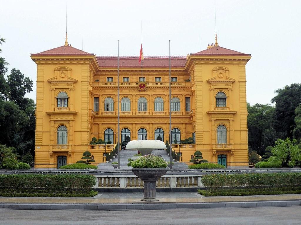 سایت تاریخی کاخ ریاست جمهوری