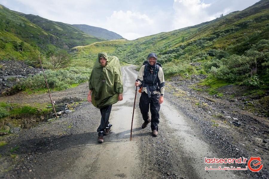 پیادهروی معنوی، نروژ