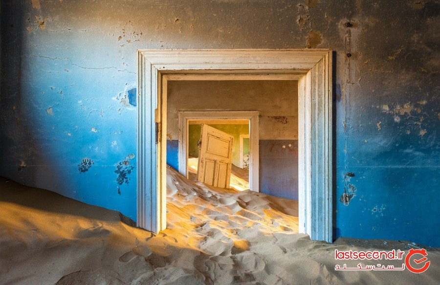 کلمن اسکوپ، صحرای نامیب