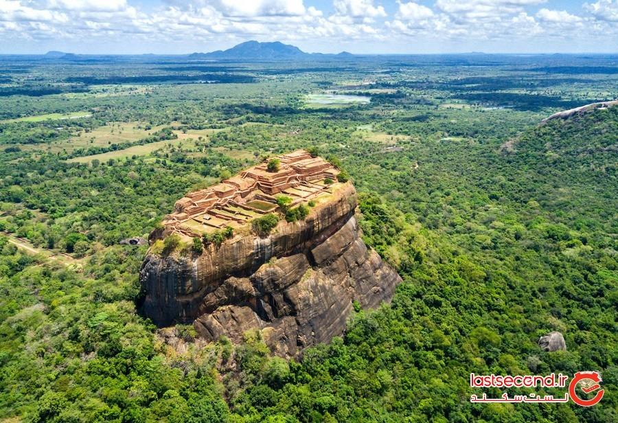 سیگیرییا، قلعه باستانی سریلانکا