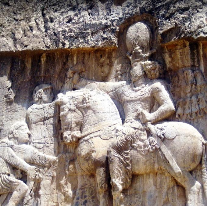 نقش پیروزی بهرام دوم