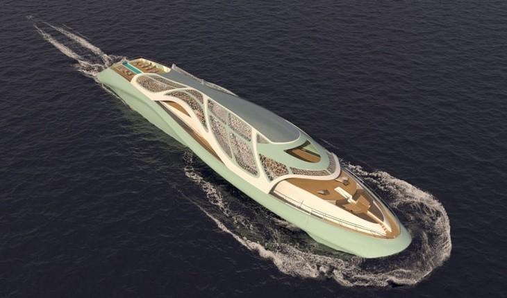 قایق بادبانی لوکسی که تبدیل به یک زیردریایی شده است!