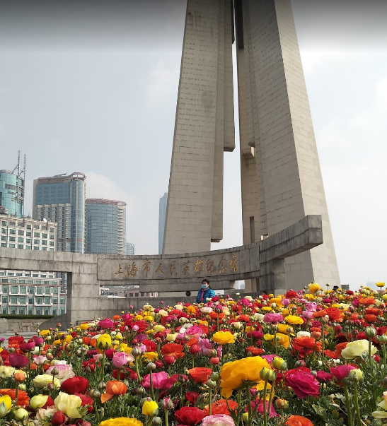 Shanghai People's Heroes Monument