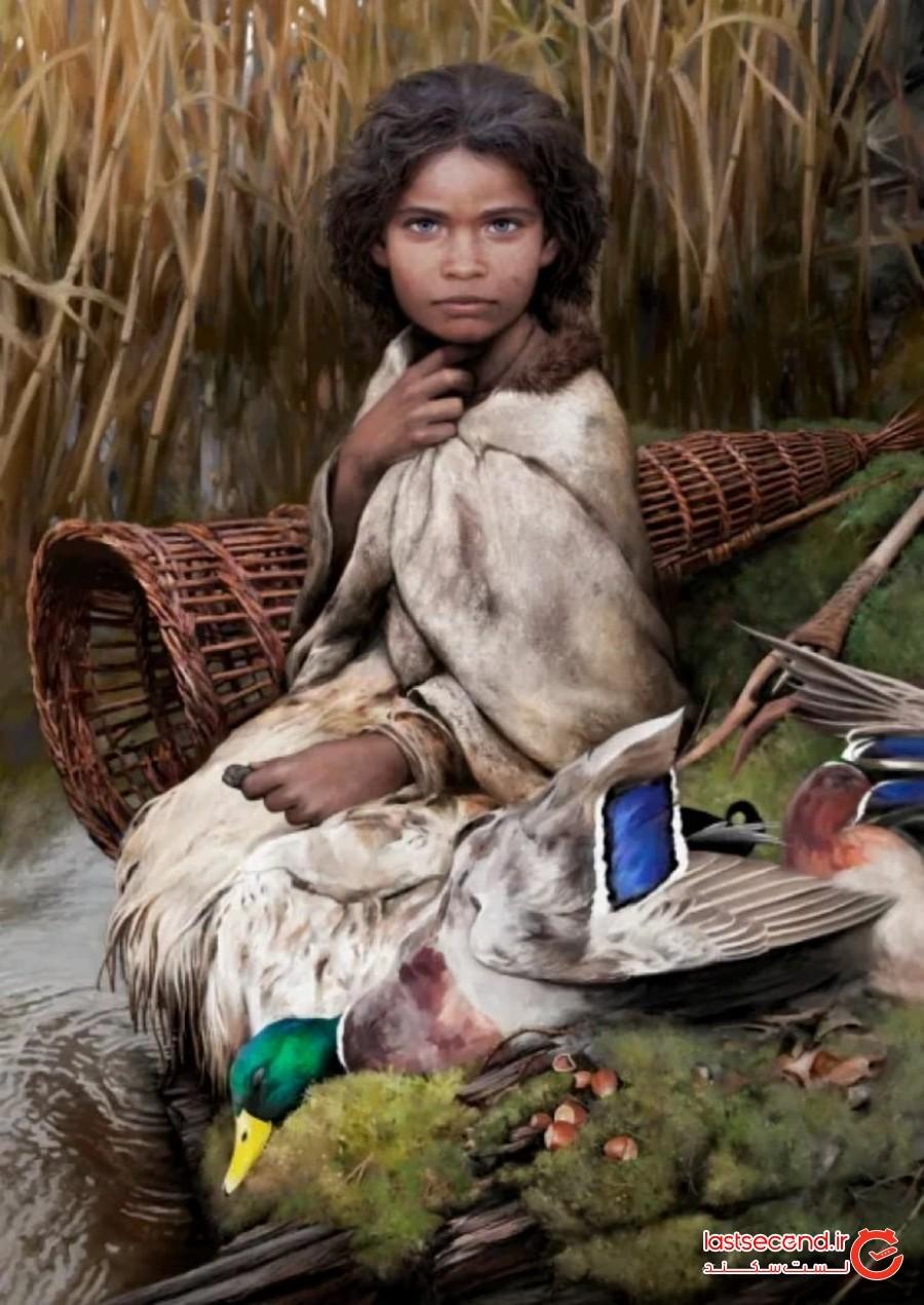 لولا؛ دختری 5700 ساله که از طریق آدامس شناسایی شد!
