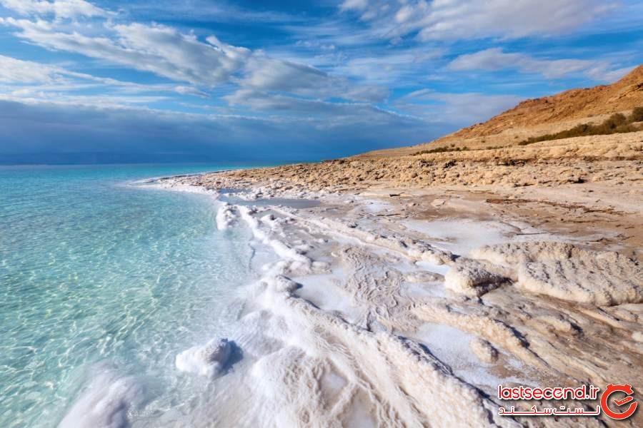دریای مرده، اردن/کرانه باختری