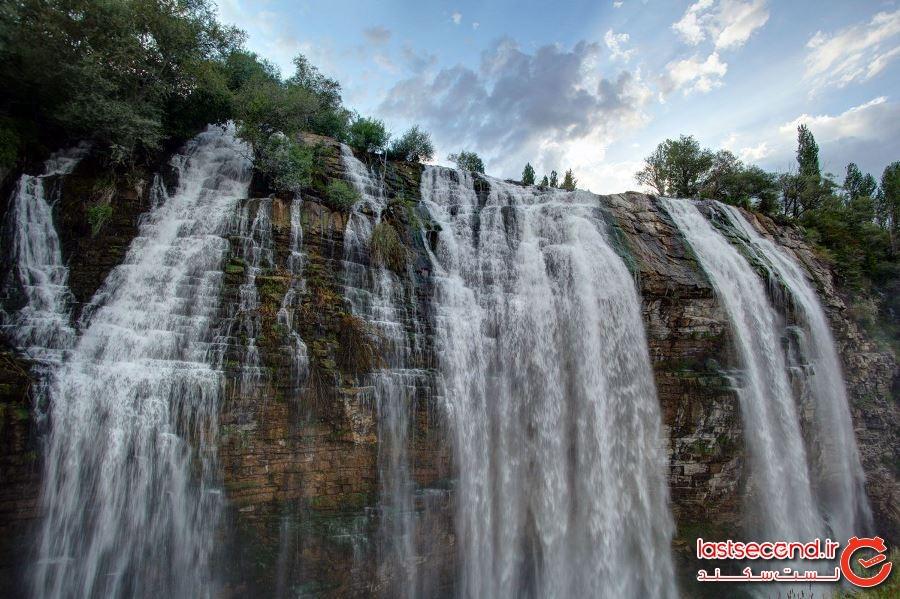 آبشار تورتوم، کشور ترکیه