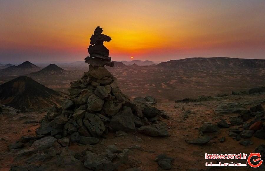 صحرای سیاه مصر