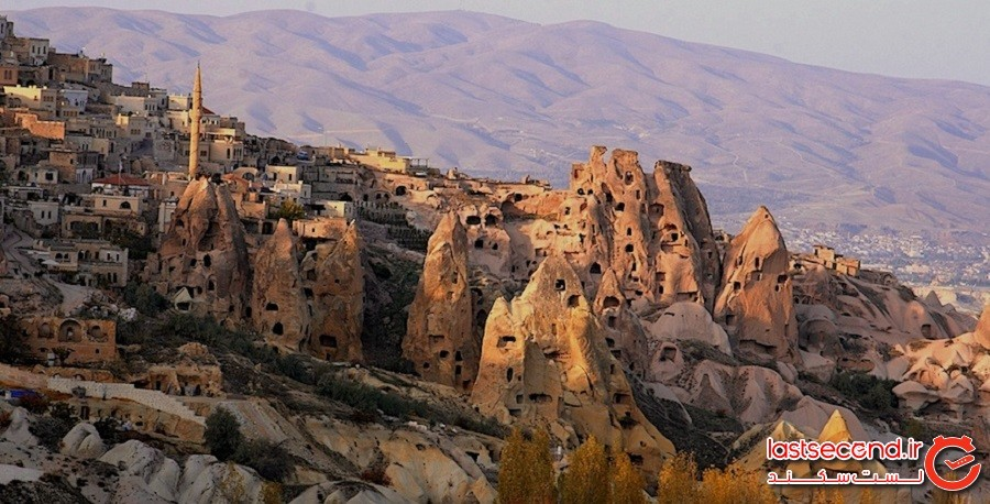 سنگها و خانههای کاپادوکیا، کشور ترکیه