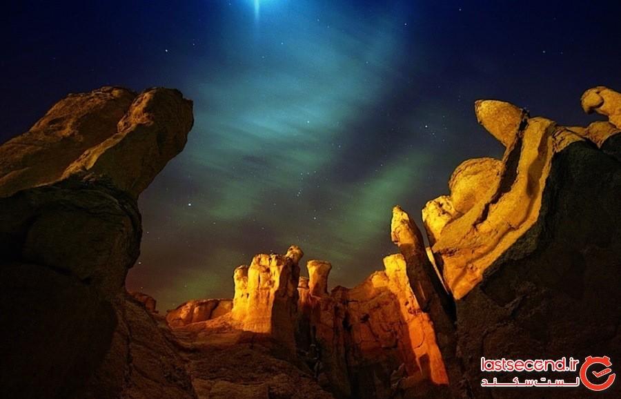 غارهای جبل القاره، عربستان سعودی