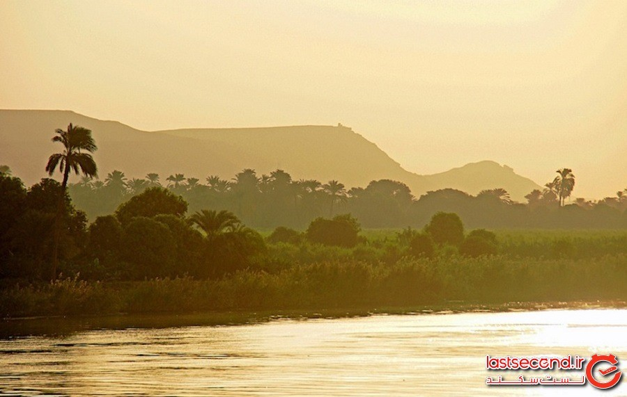 رود نیل، کشور مصر
