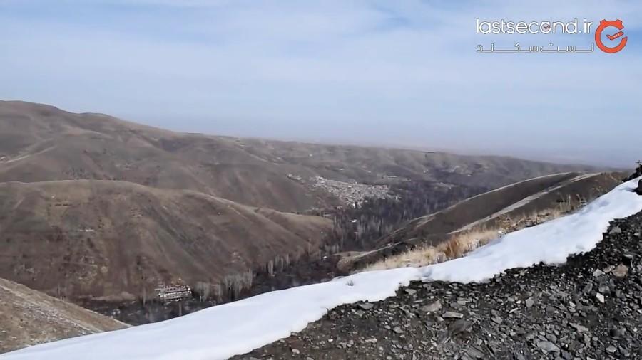 روستا تا غار مغان در نزدیکی مشهد