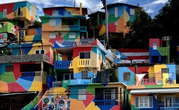 شهرهایی که دارای رنگارنگترین خانه ها در جهان هستند!