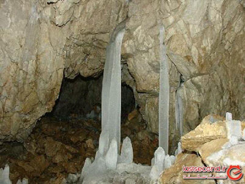 غار انگول قزوین