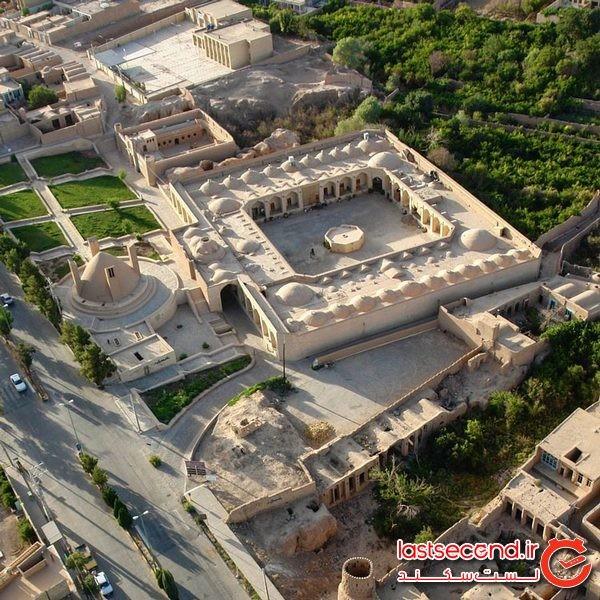 کاروانسرای شاه عباسی، کاملترین مجموعه باستانی میبد