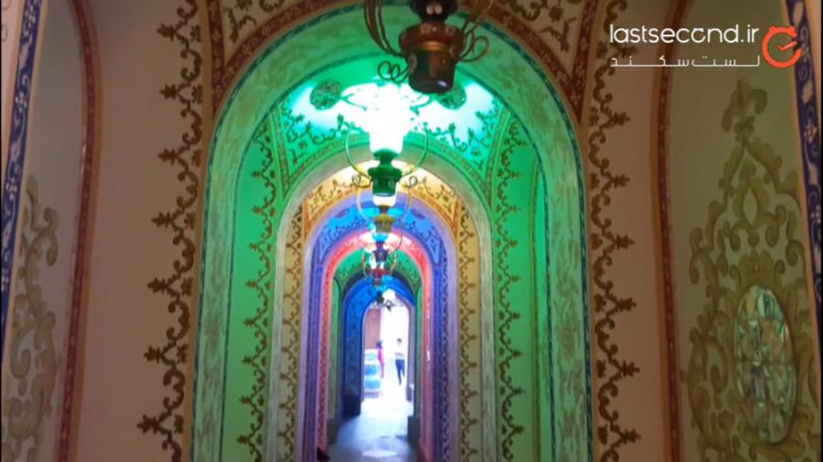 خانه ملاباشی، خانهای رنگین در اصفهان