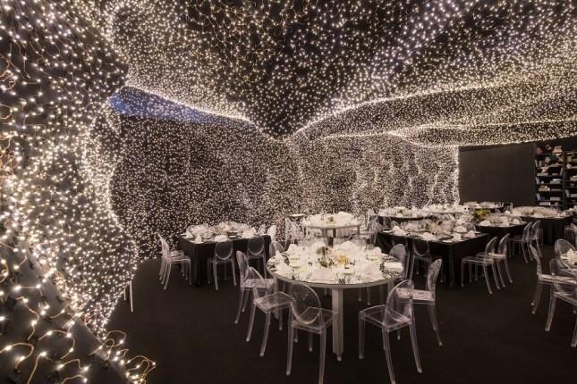 رستورانی پوشیده شده از 250.000 ستاره در مکزیکوسیتی!