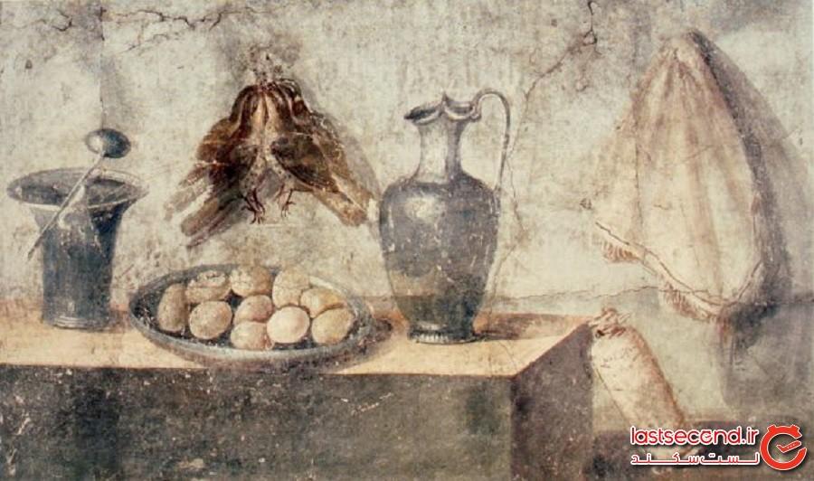 یک تخم مرغ بدبوی واقعی مربوط به امپراتوری روم باستان که دستنخورده پیدا شد
