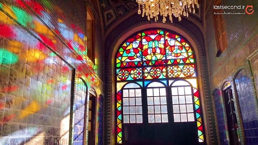 هنر زیبای ایرانی در تکیه ی معاون الملک کرمانشاه