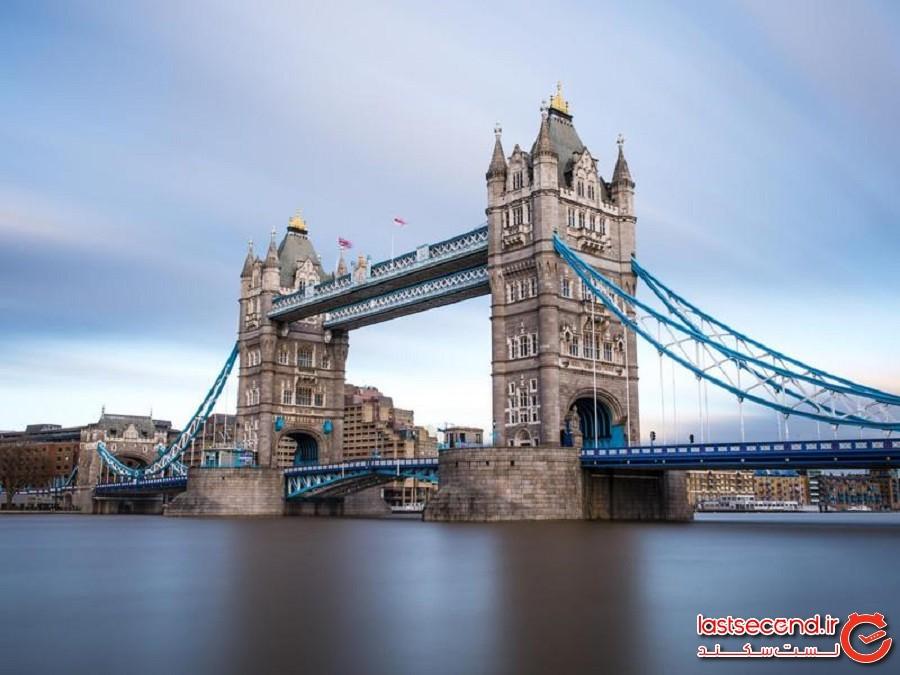 پل تاور بریج (Tower Bridge) - لندن ، انگلیس