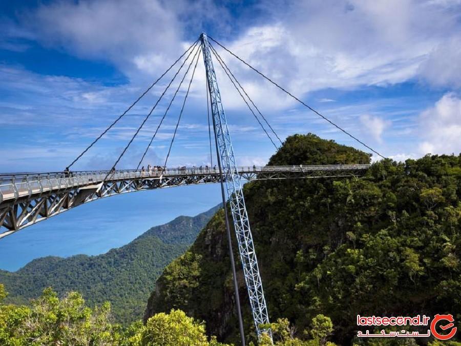 پل هوایی لنکاوی (Langkawi Sky Bridge) - لنکاوی، مالزی