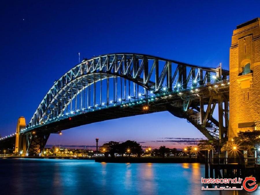 پل بندرگاه سیدنی (Sydney Harbour Bridge) - سیدنی، استرالیا