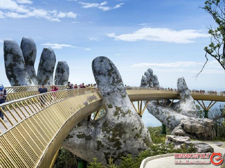 پل طلایی (Golden Bridge) - دانانگ ، ویتنام