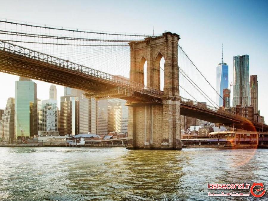پل بروکلین (Brooklyn Bridge) - نیویورک، نیویورک