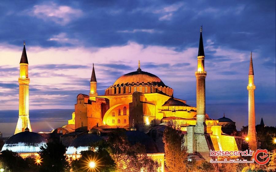 ایاصوفیه ترکیه استانبول