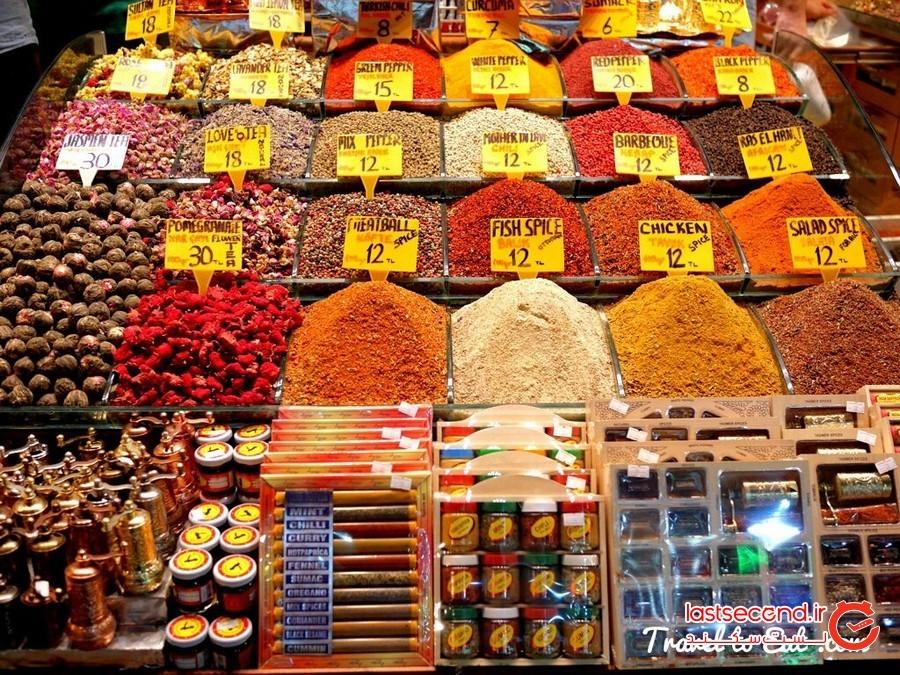 بازار ادویه ترکیه استانبول