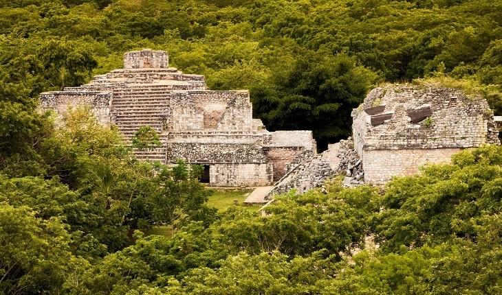 راز کاخی متعلق به تمدن مایا که در دل جنگل قرار گرفته، کشف شد!