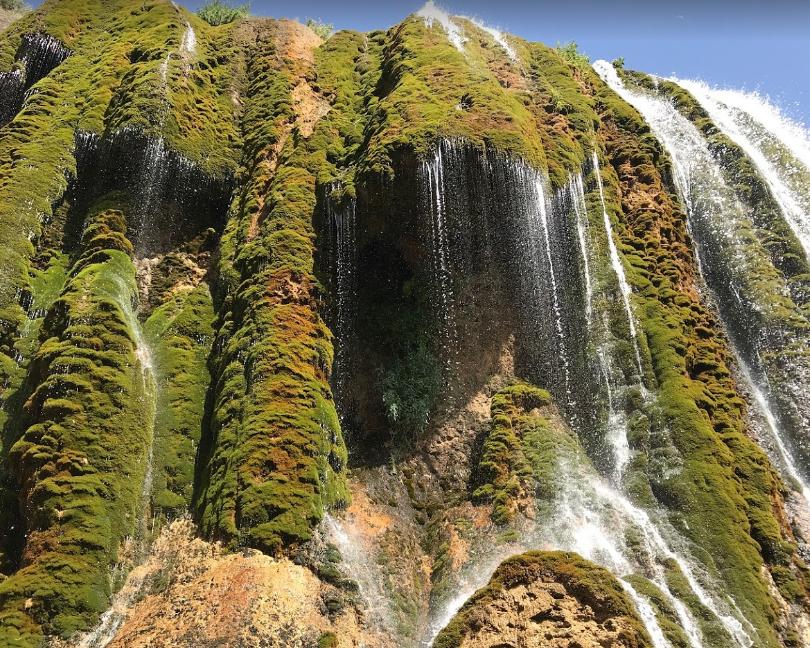 Pooneh Zar Waterfall