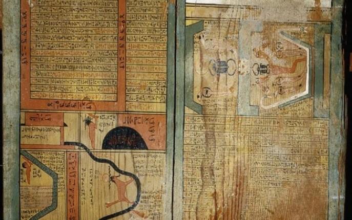 قدیمیترین کتاب مصور جهان در یک تابوت مصری کشف شد