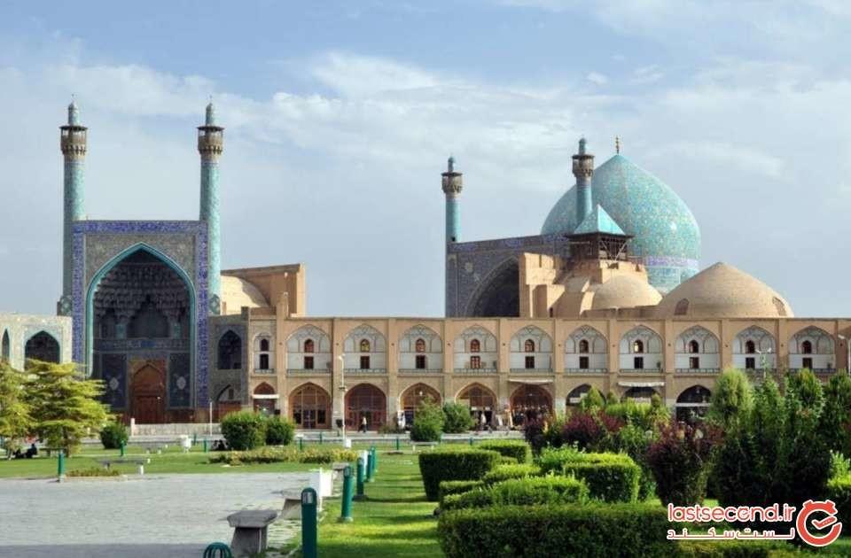 پاییز هزار رنگ در اصفهان و شیراز