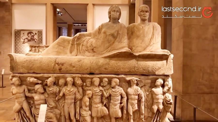 تجلی تاریخ پر فراز و نشیب لبنان در موزه ملی بیروت