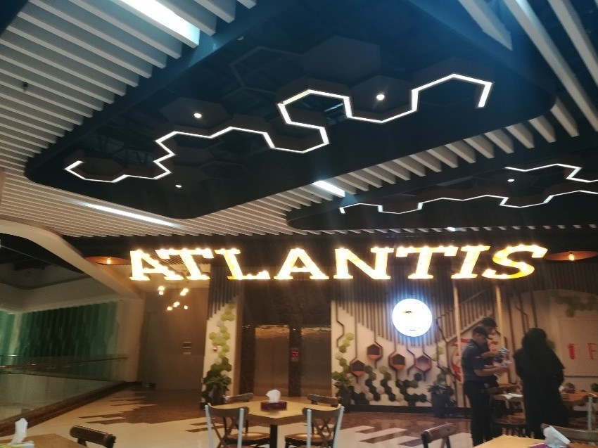 Atlantis Food Hall of Noor City center