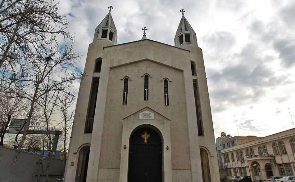 کلیسای سرکیس مقدس، بزرگترین کلیسای تهران!