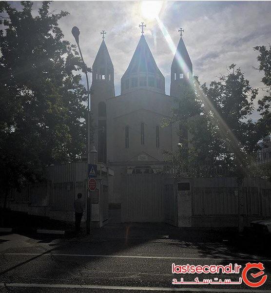 ، بزرگترین کلیسای تهران